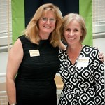 Cynthia Bertoia is Congratulated by Lynn M. Jones, Associate Dean/Chair of I.D.