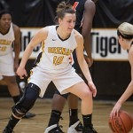 Brenau's Anela Durmic looks to steal.