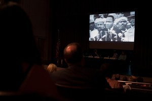 Before the panel discussion, a brief video from the Gainesville Times was shown about Dr. King's 'I Have A Dream' speech.